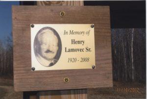 Henry Lamovec Memorial Shelter